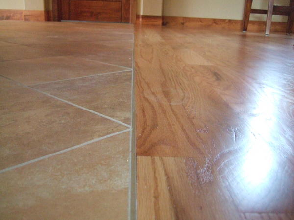 Tile To Hardwood Transition Q Ceramic Advice Forums