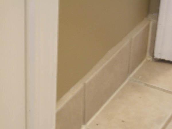 Tile Baseboard Ceramic Tile Advice Forums John Bridge