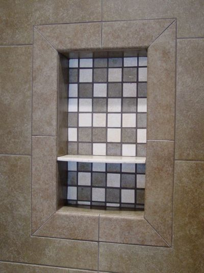 Shower Shelf Niche Questions Ceramic Tile Advice Forums
