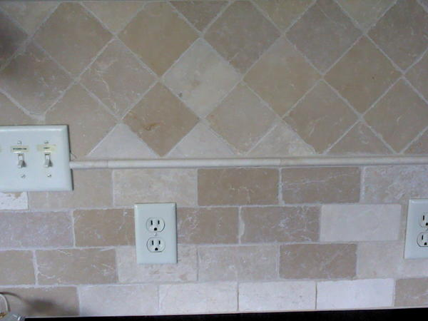 How Do I Lighten My Stone Tile Backsplash Ceramic Tile