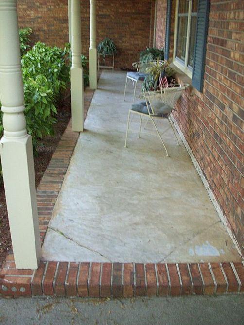 Front Porch Project Ceramic Tile Advice Forums John