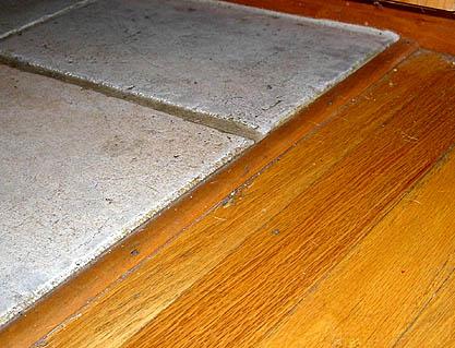 Tile To Hardwood Transition Ceramic Tile Advice Forums