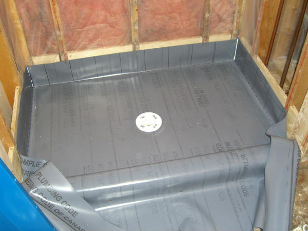 Shower Exterior Wall Vapor Barrier And Waterproofing Homelux Ceramic Tile Advice Forums