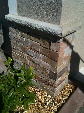 Eldorado stone ceramic tile advice forums john bridge for How to install stone veneer over stucco