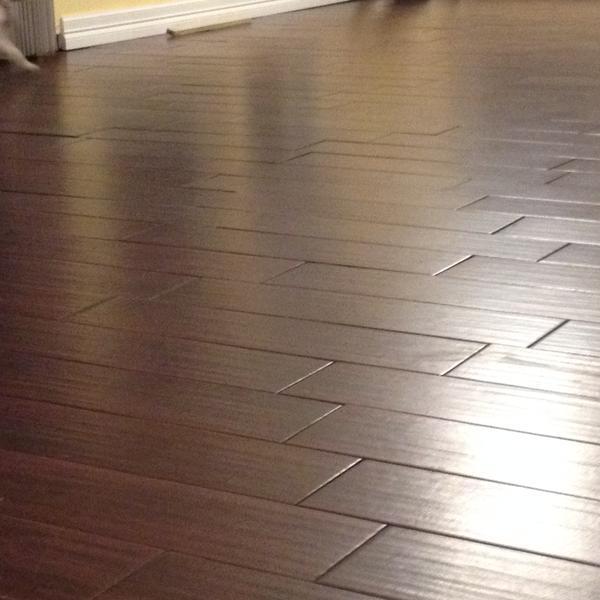 Bad Wood Tile Job Ceramic Tile Advice Forums John