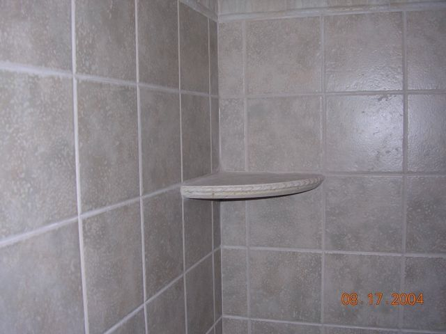 corner shower shelf ceramic tile advice forums john bridge ceramic tile. Black Bedroom Furniture Sets. Home Design Ideas