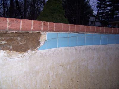 Pool Tiles Falling Off Pool Wall Needs Repair Ceramic Tile Advice Forums John Bridge