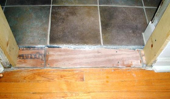 Setting Granite Threshold Ceramic Tile Advice Forums