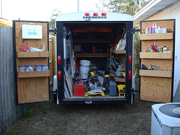 Lets See Your Van Truck Trailer Layouts Page 6 Ceramic