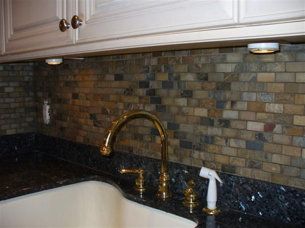 Grout Recommendation For Tumbled Slate Backsplash W