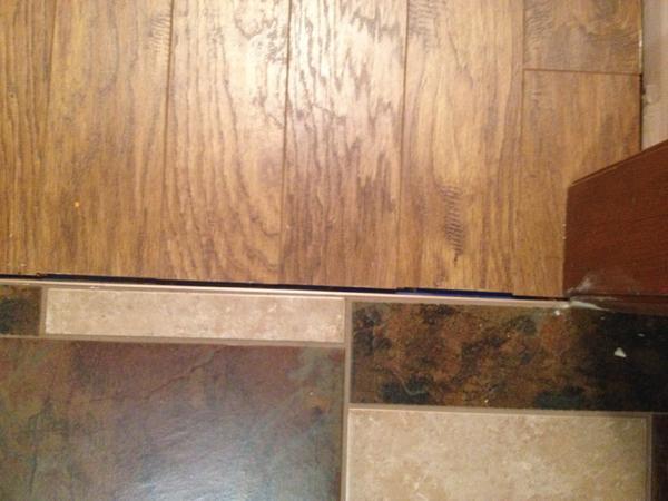 Schluter Metal Transition To Laminate Floor Expansion Gap