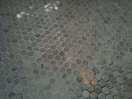 Grouting Marble Hex Floor Ceramic Tile Advice Forums