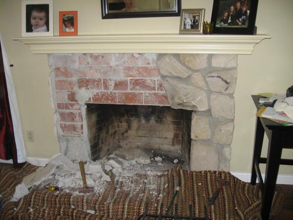 Fireplace Hearth And Mantel Job Ceramic Tile Advice Forums John Bridge