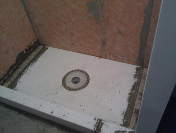 Alan's bathroom install - Page 3 - Ceramic Tile Advice ...