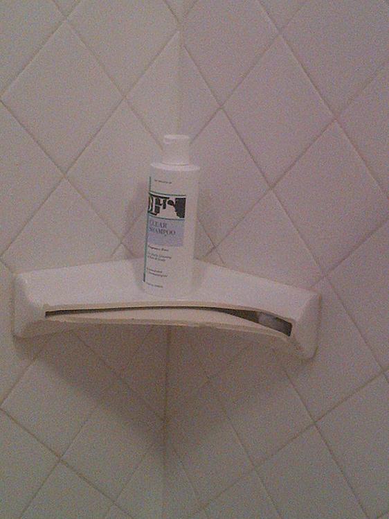 How Do I Repair A Broken Ceramic Shower Shelf Ceramic