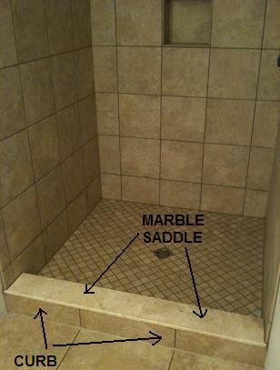 Shower Tile Amp Saddle Ceramic Tile Advice Forums