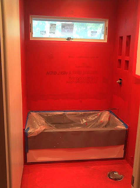 Redgard To Fiberglass Tub Question Ceramic Tile Advice