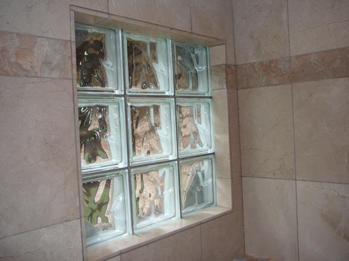 Glass Block Window In Shower Ceramic Tile Advice Forums