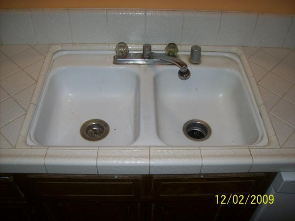 Need Advice How Do I Replace Old Kitchen Sink While