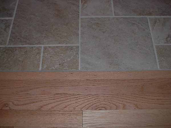 Please Post Tile To Wood Transition Pics Ceramic Tile