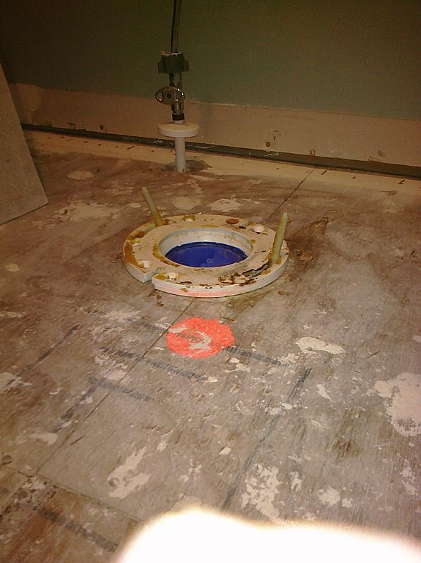 how to cut ceramic floor tile for around toilet