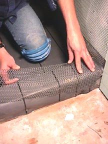 Shower Curb Shower Dam Or Threshold For Tile Showers