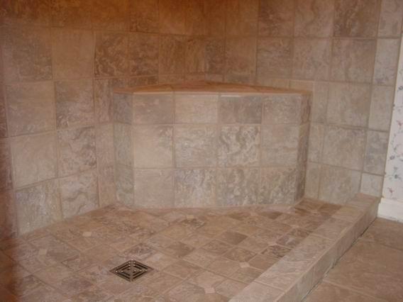 Accessible Shower Tiled Handicap Ada Wheelchair