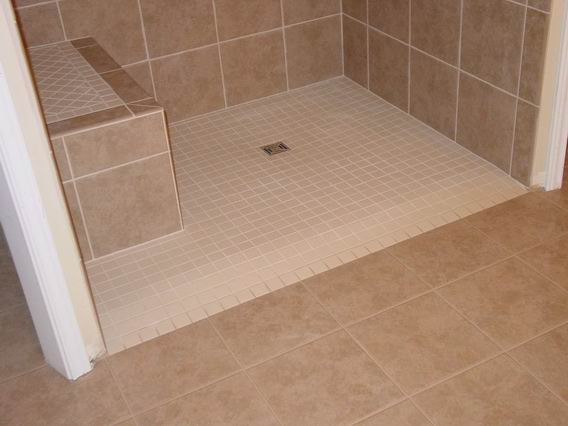handicap walk in showers. Roll In Shower Accessible  Tiled Handicap ADA Wheelchair