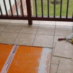 Tiles Installed on Ditra with Dry Set Mortar