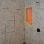 Ditra-Set/Kerdi Shower In Progress