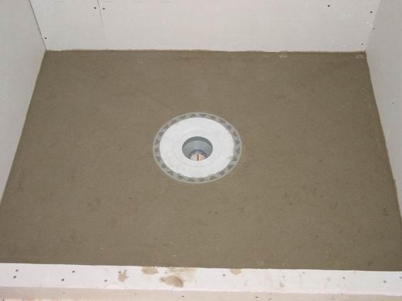 Floor Ready For Kerdi Membrane