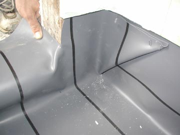 How To Install A Shower Pan Liner Photos Pvc Liner Installation