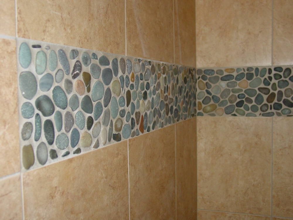 Pebble Shower Floors for Tiled Showers - How-to Install Small ...