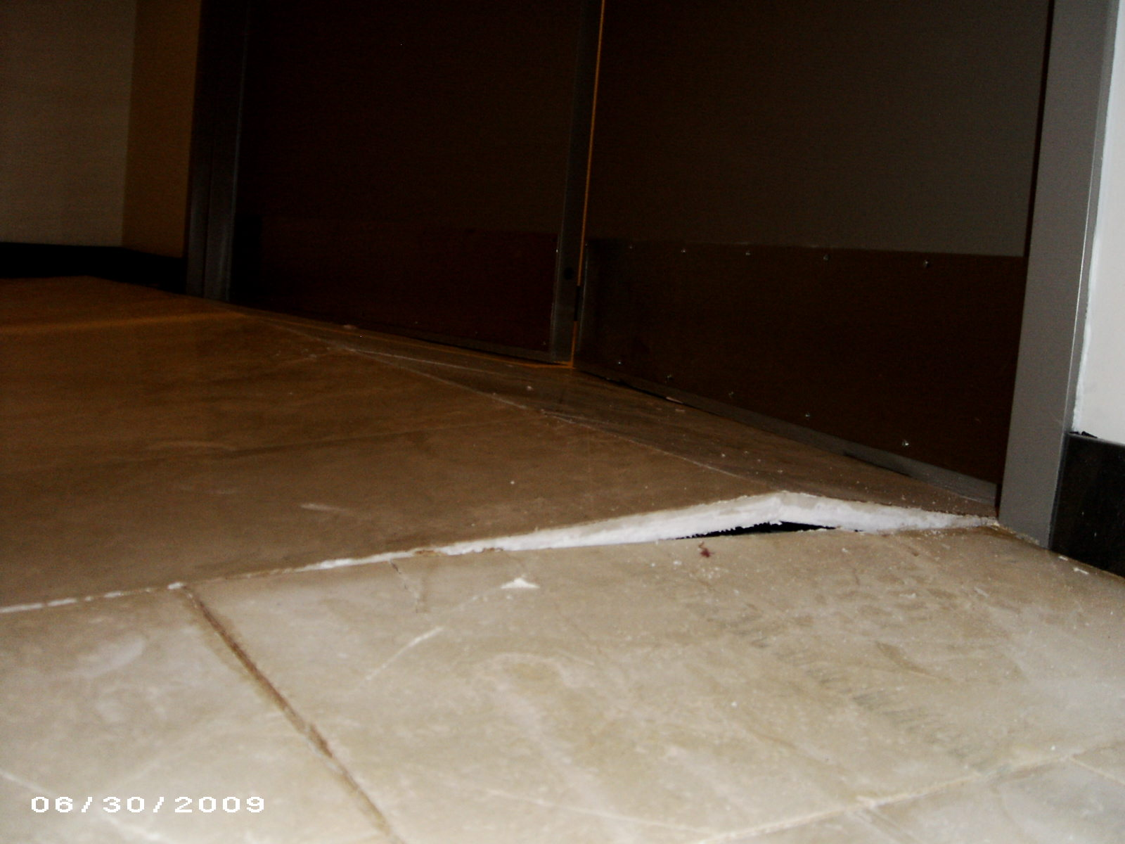 Tile Floor Movement and Expansion Joints - Problems - Tenting | Tile ...