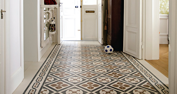 How to seal encaustic cement tiles using nano technology for Floor cement tiles